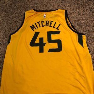 Fanatics Shirts - Utah Jazz Donovan Mitchell Gold Statement Jersey
